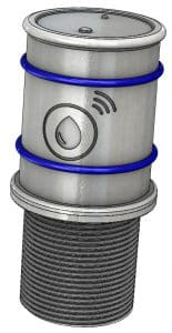 capteur à ultrason connecté pour cuve à fioul