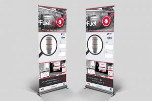 Kakemono Fuel it, intégration 3D