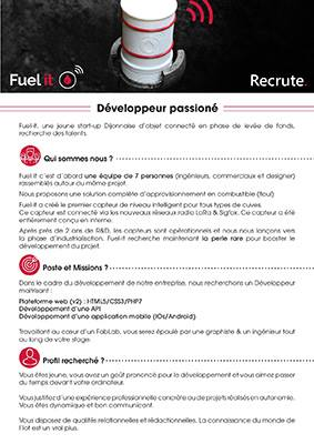 fuel it is recruiting a developer