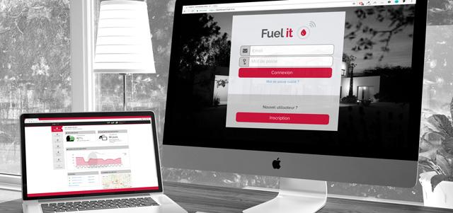 intégration-dashboard fuel it capteur connecté fioul mazout ultrason