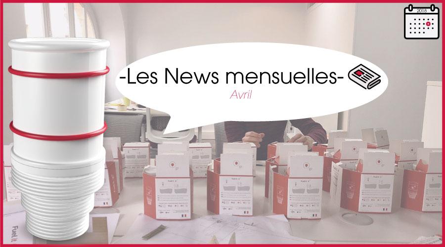 news mensuelles- le mois d'avril