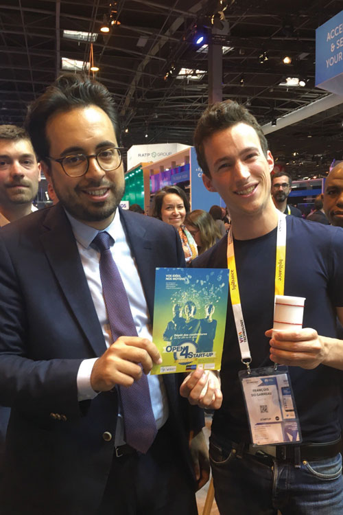 salon-viva-technology-fuel-it-mounir-mahjoubi-2018-4 open4startup capteur connecté