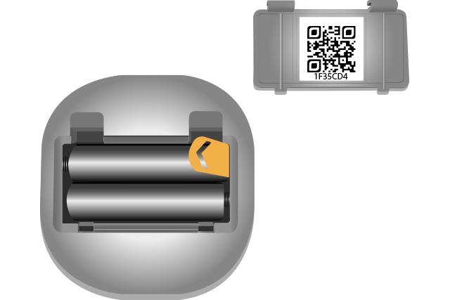 bouton-connecté-fuel-it-vue-de-dessous capteur connecté cuve à fioul / mazout